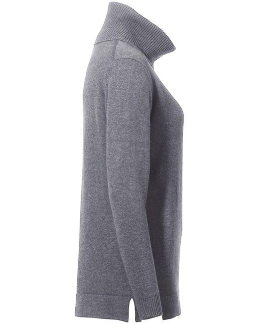 Peter Hahn Gray Rollkragen-pullover modell tamara