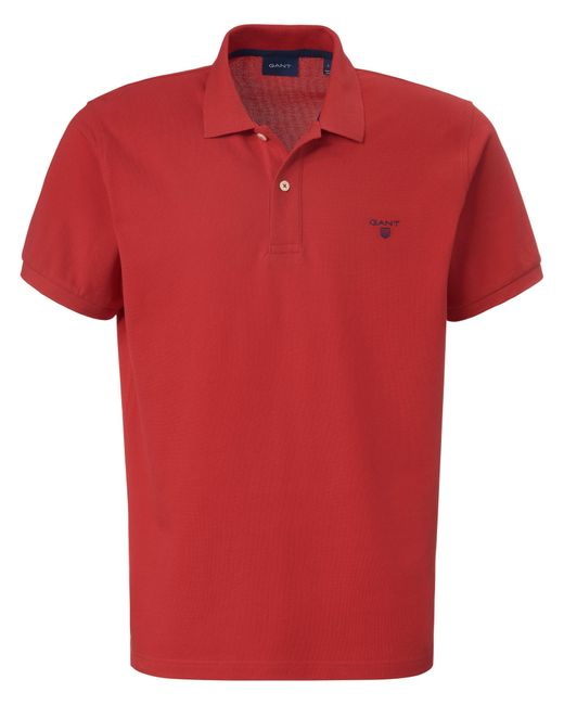 Gant Polo-shirt in Red für Herren