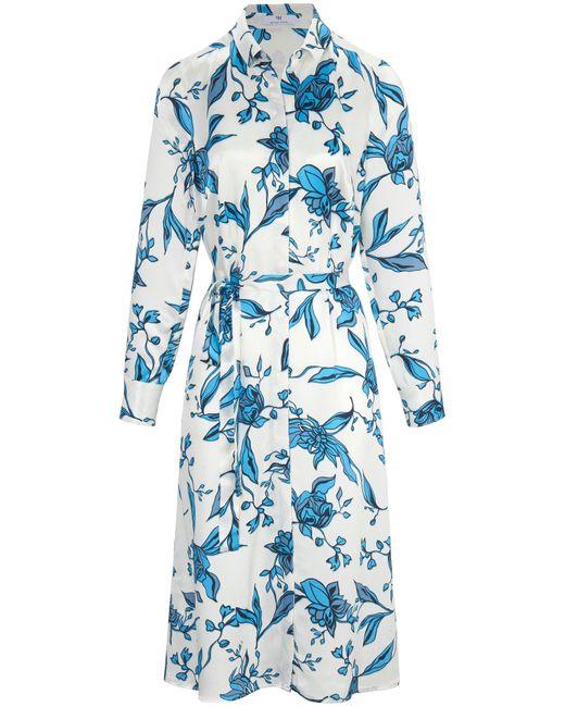 Peter Hahn Blue Kleid im Hemdblusen-Schnitt mehrfarbig