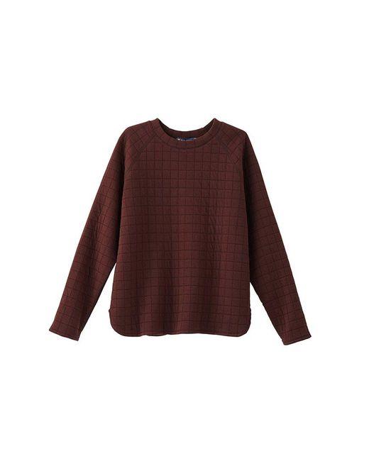 Petit Bateau | Brown Women's Padded Tube Knit Sweatshirt | Lyst