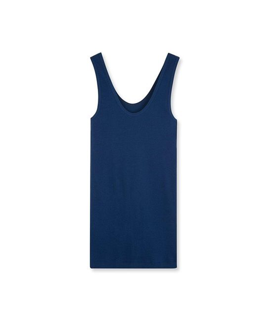 Petit Bateau | Blue Women's Tank Top In Ultra Light Cotton | Lyst