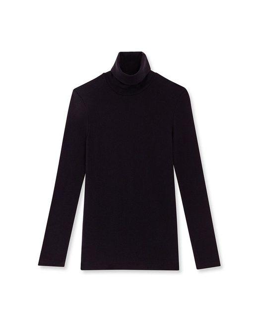 Petit Bateau   Black Women's Plain Undersweater   Lyst