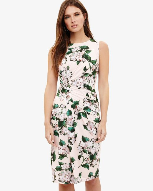 Phase Eight - Multicolor (h)cam Floral Print Dress - Lyst