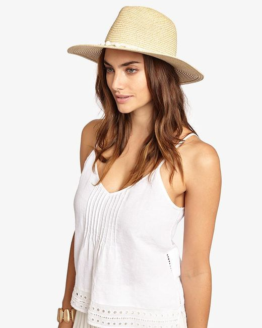 Phase Eight | Natural Pom Pom Sun Hat | Lyst