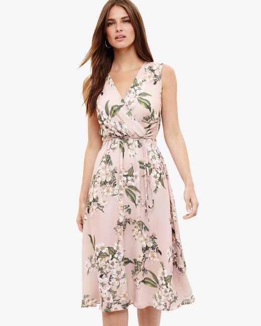 Phase Eight - Pink (h)tanisha Floral Dress - Lyst
