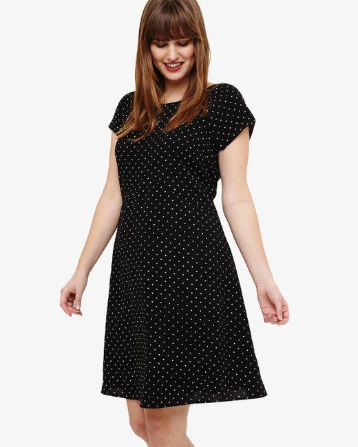 Phase Eight - Black Maria Spot Swing Dress - Lyst