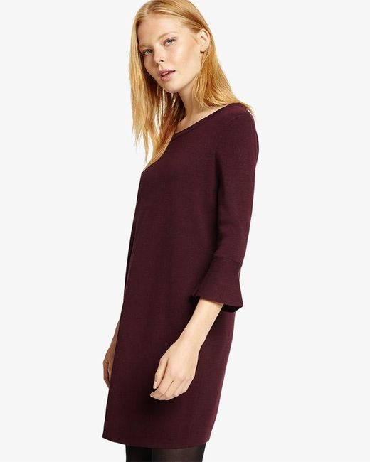 Phase Eight - Multicolor Bertie Bell Sleeve Knitted Dress - Lyst