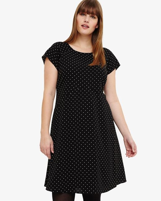 Phase Eight - Black Maria Spot Swing Dress - Lyst
