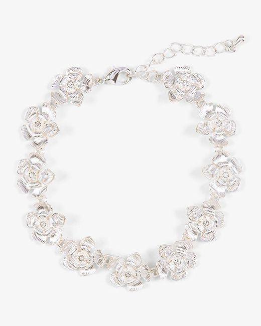 Phase Eight - Metallic Aya Flower Bracelet - Lyst