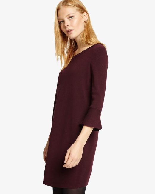 Phase Eight - Multicolor (t) Bertie Bell Sleeve Knit Dress - Lyst