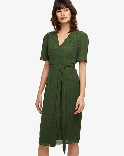 Phase Eight - Green Nancy Wrap Dress - Lyst