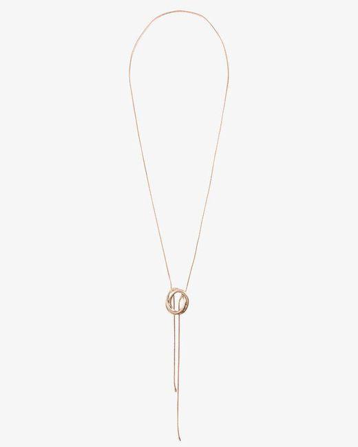 Phase Eight - Metallic Suri Knot Tassle Pendant Necklace - Lyst