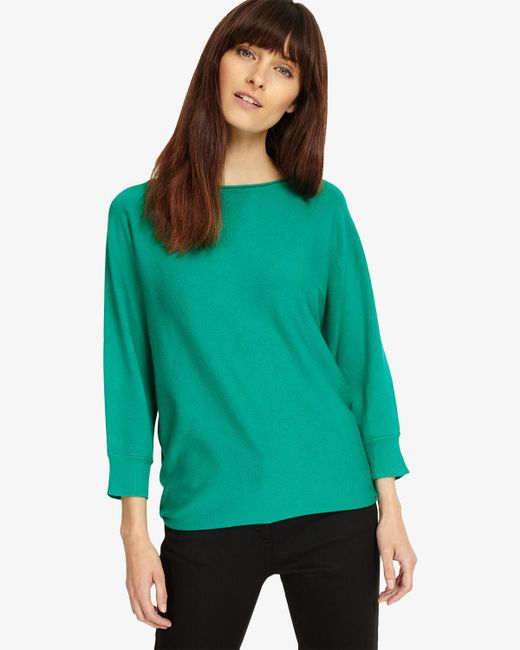 Phase Eight - Green Smart Becca Batwing Knit - Lyst