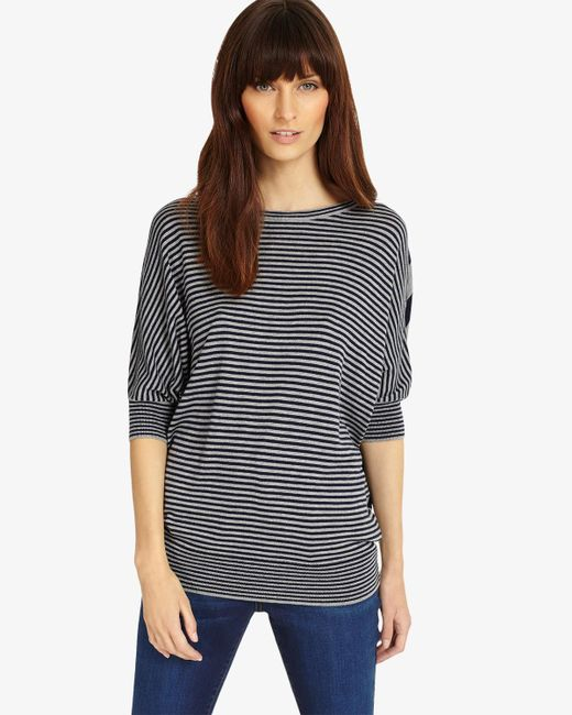 Phase Eight - Multicolor Mix Stripe Becca Batwing Jumper - Lyst