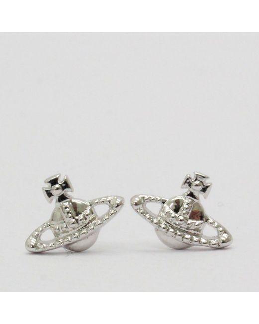 Vivienne Westwood - Metallic Farah Earrings Silver - Lyst