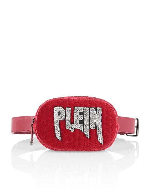 Philipp Plein - Red Pouch Rock Pp - Lyst