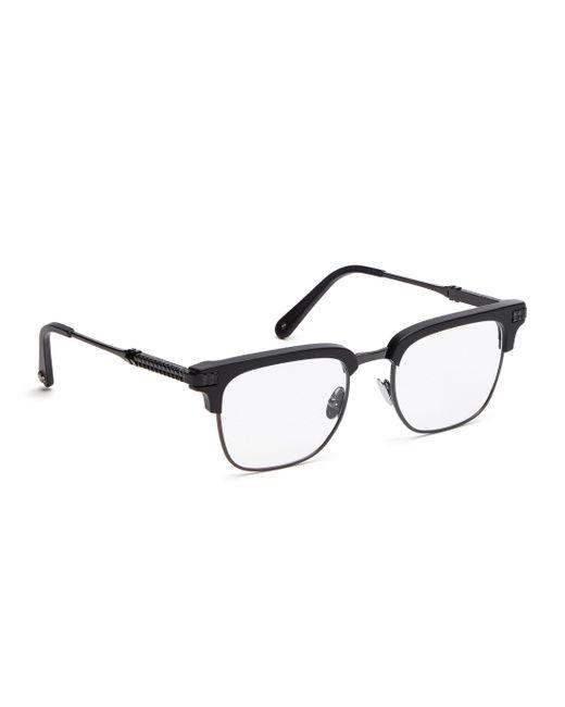 "Philipp Plein - Black Optical Frames ""cameron"" - Lyst"