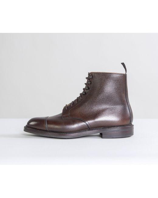 b49feb354e7 Men's 'coniston' Scotch Country Grain Boots Dark Brown
