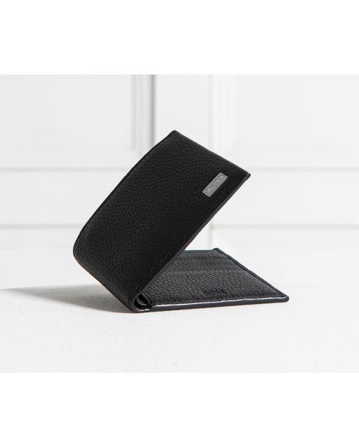 49868e82494 ... Lyst BOSS - 'crosstown_4 Cc' Billfold Leather Wallet Black for Men ...