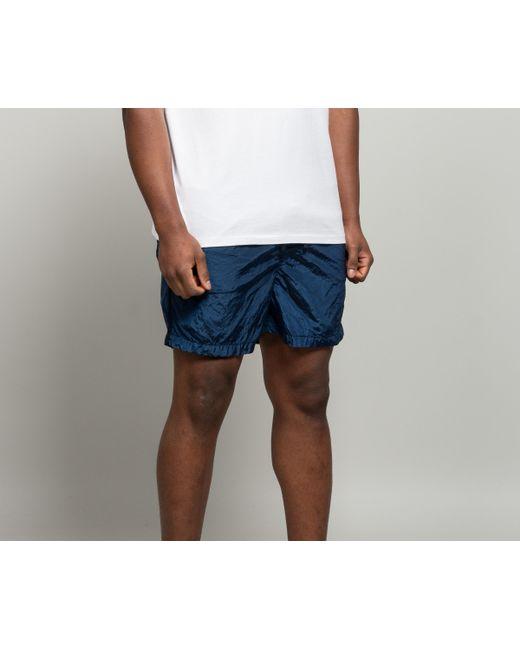 7573fa5355ff4 ... Stone Island - Short Length Nylon Metal Swim Shorts Marine Blue for Men  - Lyst ...