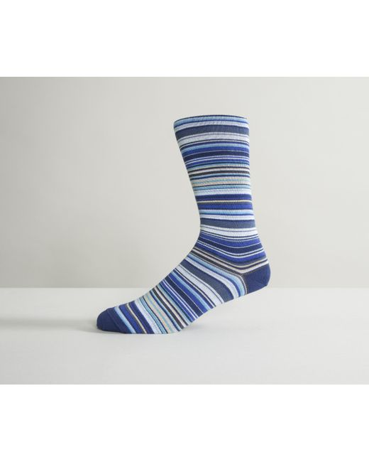 Paul Smith - New Multi Stripe Socks Blue for Men - Lyst