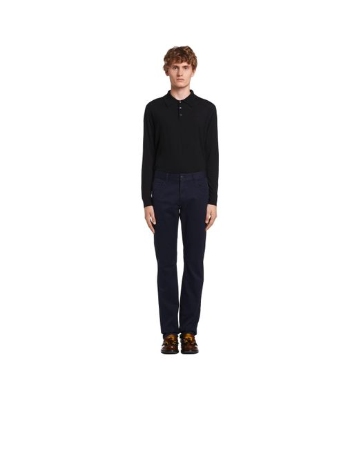 f05b124828b7c Prada - Multicolor Tapered-fit Dip-dyed Drill Jeans for Men - Lyst ...