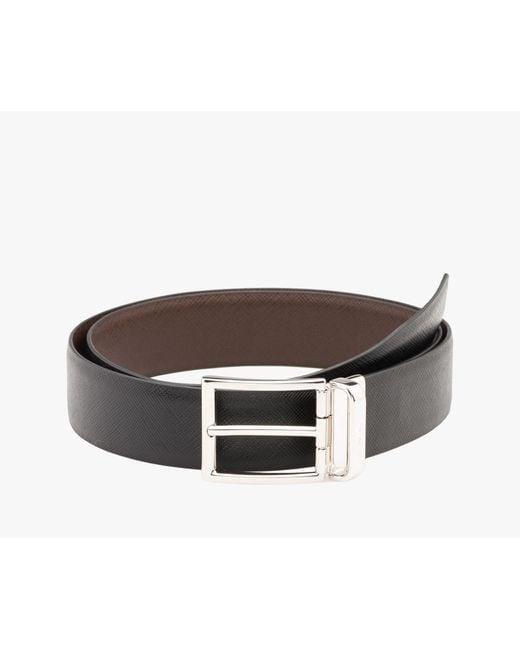 Prada   Brown Belt for Men   Lyst