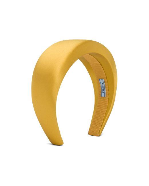Prada Multicolor Satin Headband