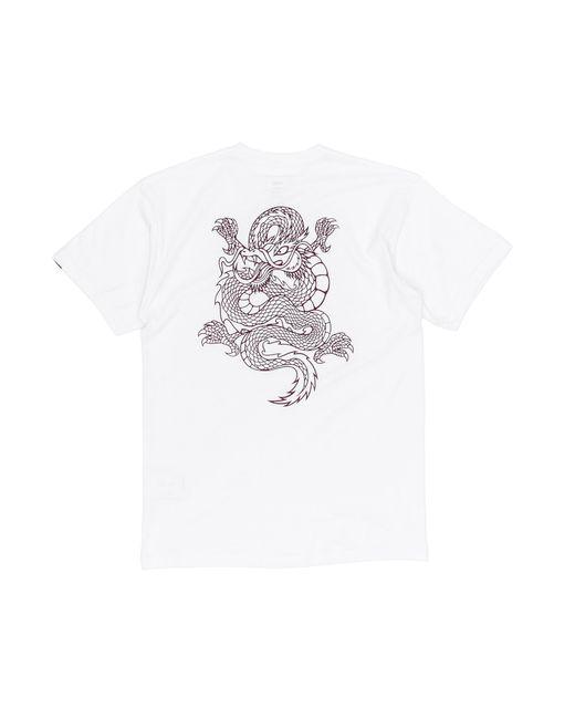 7b31f7a2eaf45d Vans - White Puff T-shirt for Men - Lyst ...