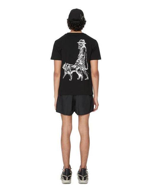 T-shirt x New Era en coton Yohji Yamamoto pour homme en coloris Black