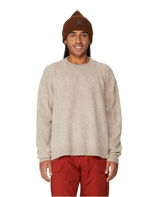 Pull T-shirt en laine mélangé Tibi pour homme en coloris White