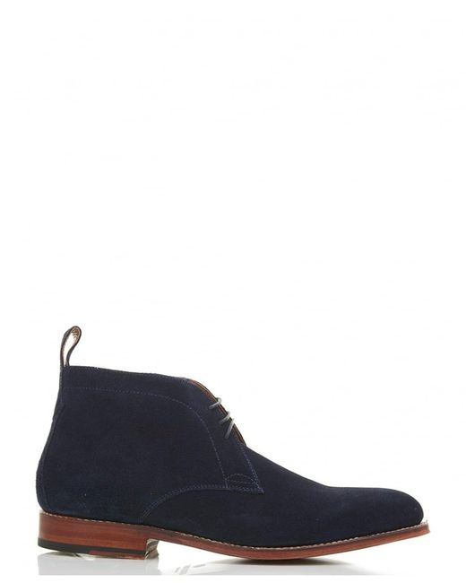 GRENSON | Blue Marcus Suede Chukka Boot for Men | Lyst