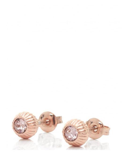 Ted Baker | Multicolor Aubree Plisse Crystal Ball Earrings | Lyst
