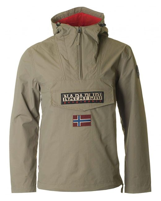 Napapijri - Multicolor Summer Rainforest Half Zip Jacket for Men - Lyst