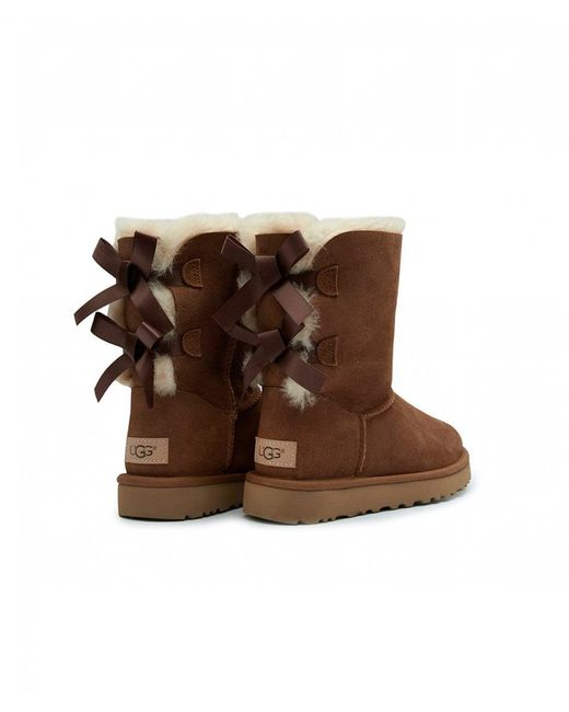 443854df6b5 Women's Brown New Bailey Bow Shearling Boots