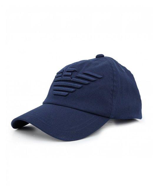f05eca6f777f61 Armani Jeans - Blue Big Eagle Cap for Men - Lyst ...
