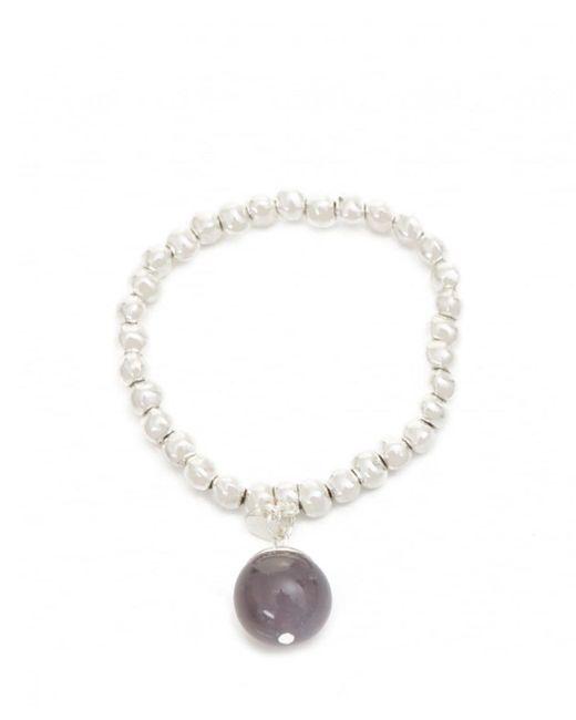Olia Jewellery - Metallic Mara Ball Detail Bracelet - Lyst