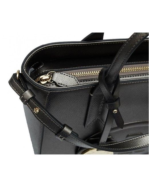 b6e624ed6442 ... Emporio Armani - Black Frida Small Eagle Logo Tote Bag - Lyst ...