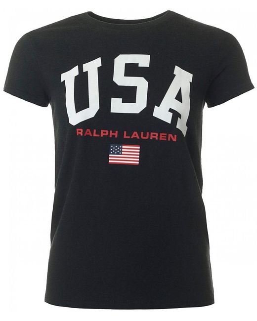 Polo Ralph Lauren - Black Vintage Usa Logo - Lyst