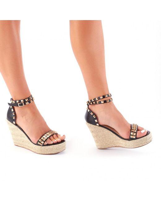 Public Desire Baja Espadrille Wedge Sandal in coWZRpC