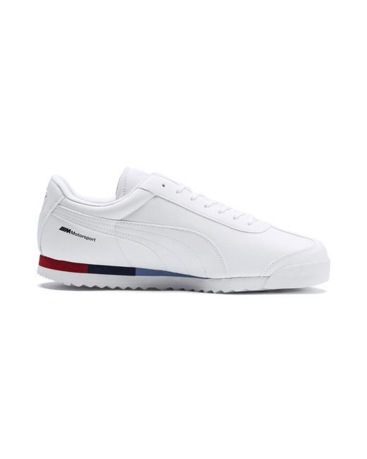 09a2480b43b Lyst - PUMA Bmw Mms Roma Men s Sneakers in White for Men