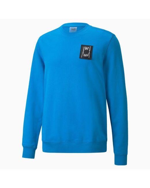 PUMA Pivot Special Sweatshirt mit Rundhalsausschnitt in Blue für Herren