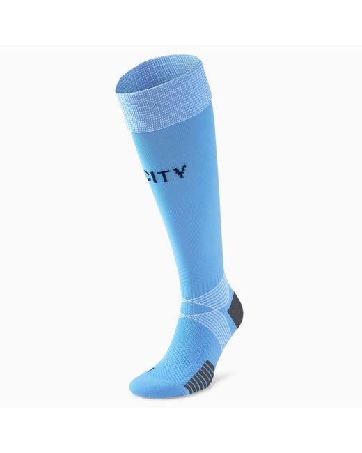 PUMA Man City Replica Voetbalsokken Heren in het Blue voor heren