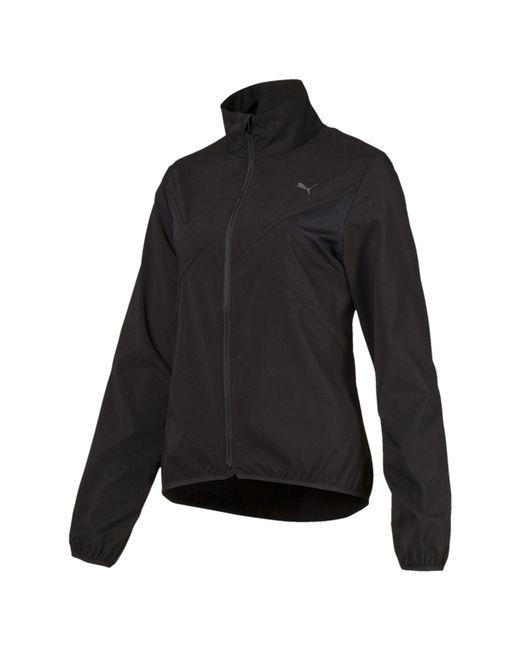 PUMA - Black Ignite Zip-up Women's Running Wind Jacket - Lyst