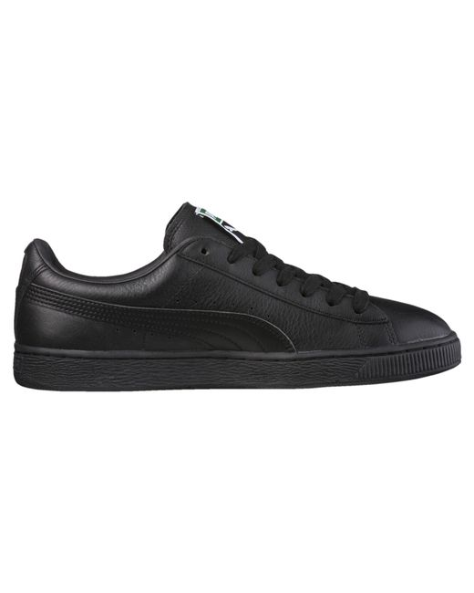 5cfed7a0dada ... PUMA - Black Heritage Basket Classic Sneakers for Men - Lyst ...