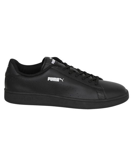 918d3c8b417ea7 ... PUMA - Black Smash V2 Leather Perf Sneakers for Men - Lyst ...