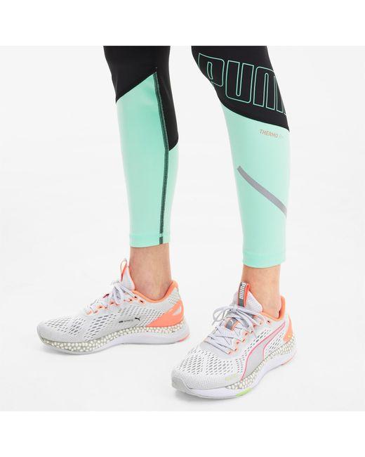 PUMA White Speed 600 2 Running Shoes