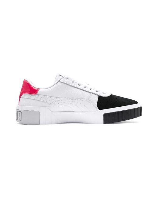 White Cali Remix Women's Sneakers