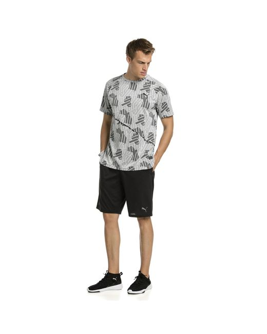 246747e1e3c5df ... PUMA - Gray Bnd Tech Ss Tee for Men - Lyst ...