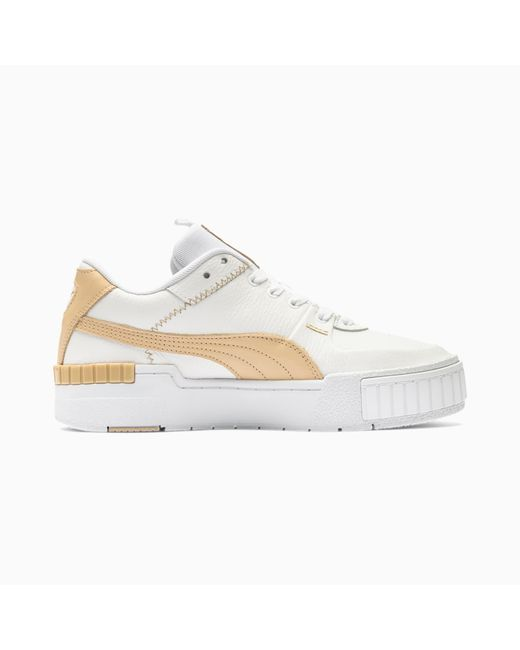 PUMA White Cali Sport Pastel Sneakers
